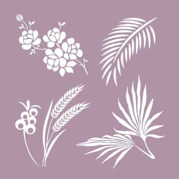 Растительные узоры