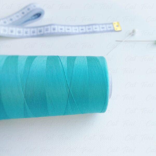 швейная бобина Бирюзовая нитка