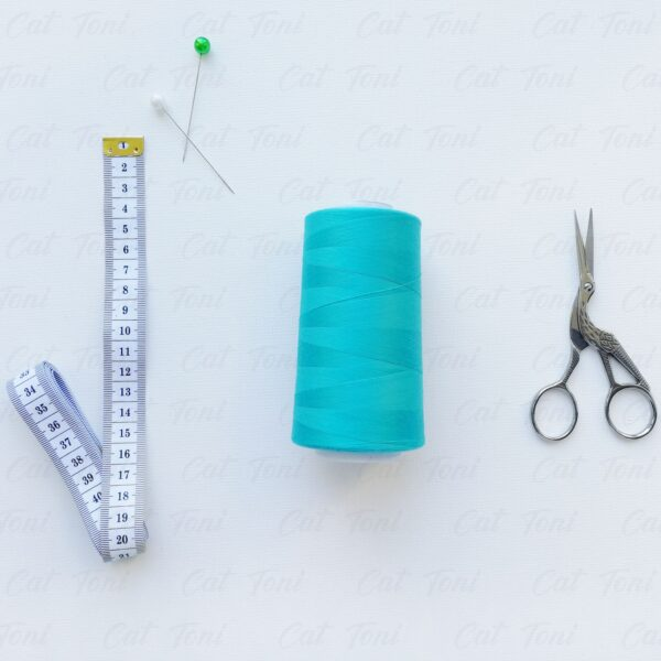 Купить швейную бобину Бирюзовая нитка