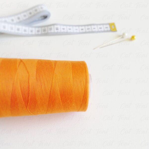 Купить Оранжевая нитка бобина 5000 ярдов