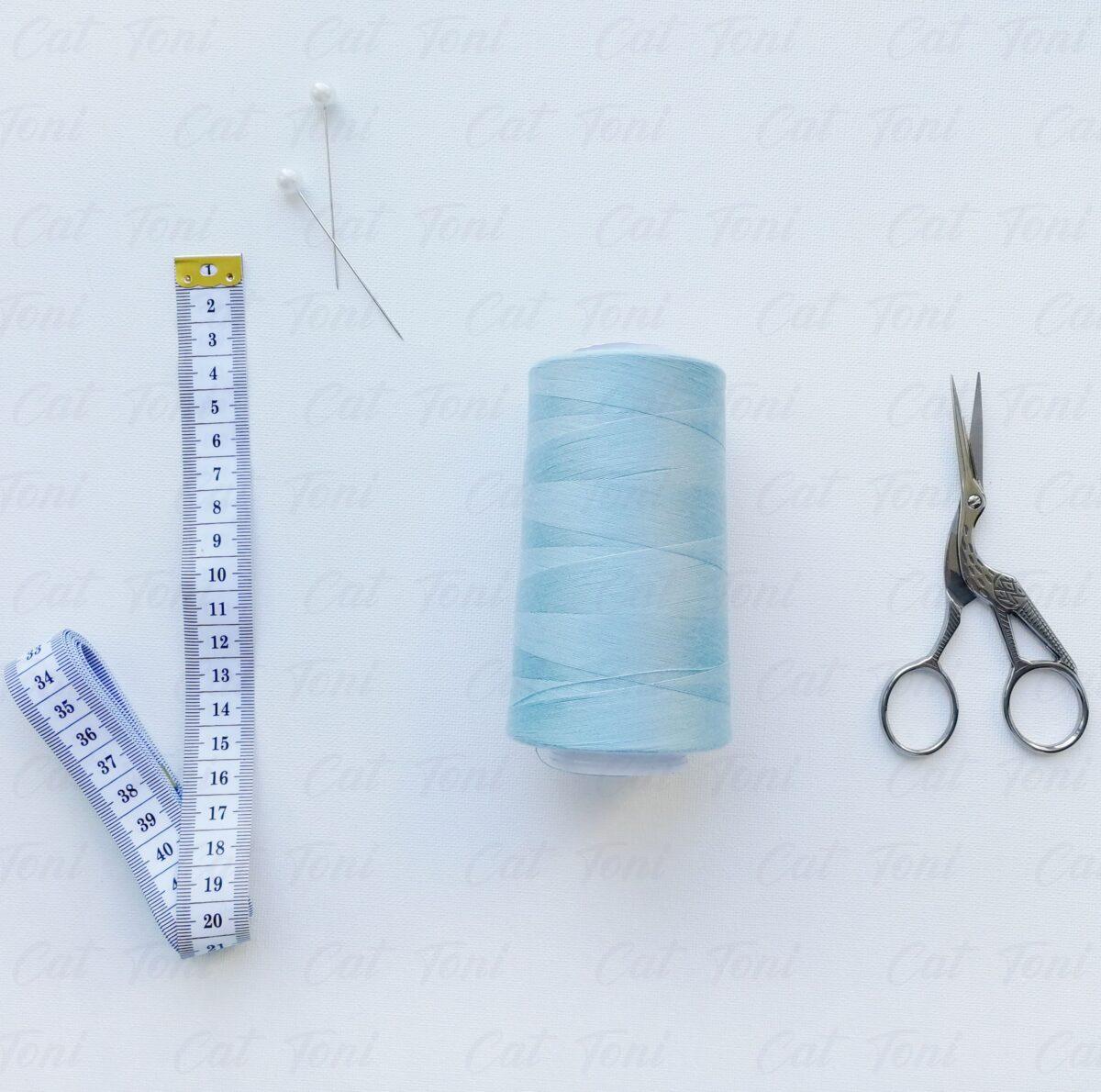 Купить швейная Серая нитка бобина (5000 ярд)