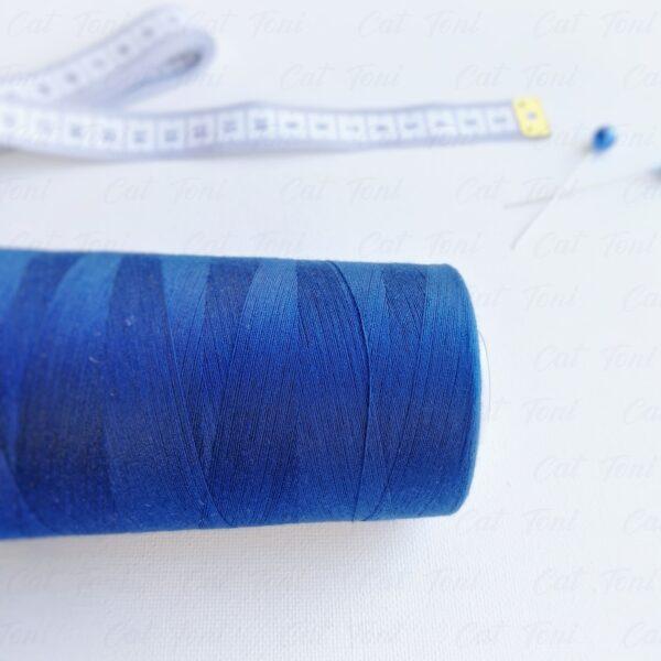 Синяя нитка бобины 5000 ярдов