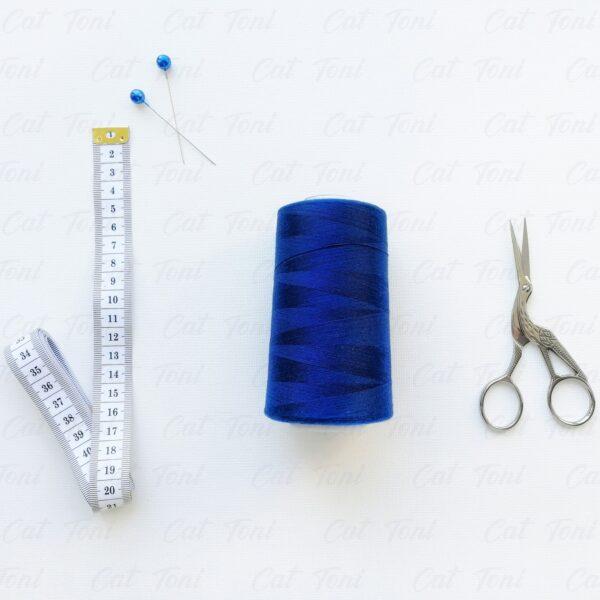 Купить Темно-синяя нитка бобина 5000 ярдов