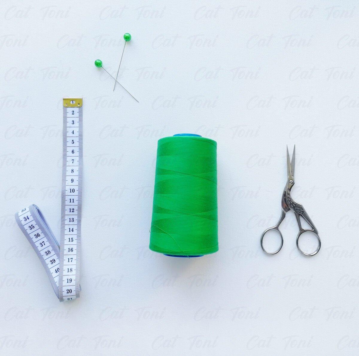 Купить швейные Зеленая нитка бобина 5000 ярд
