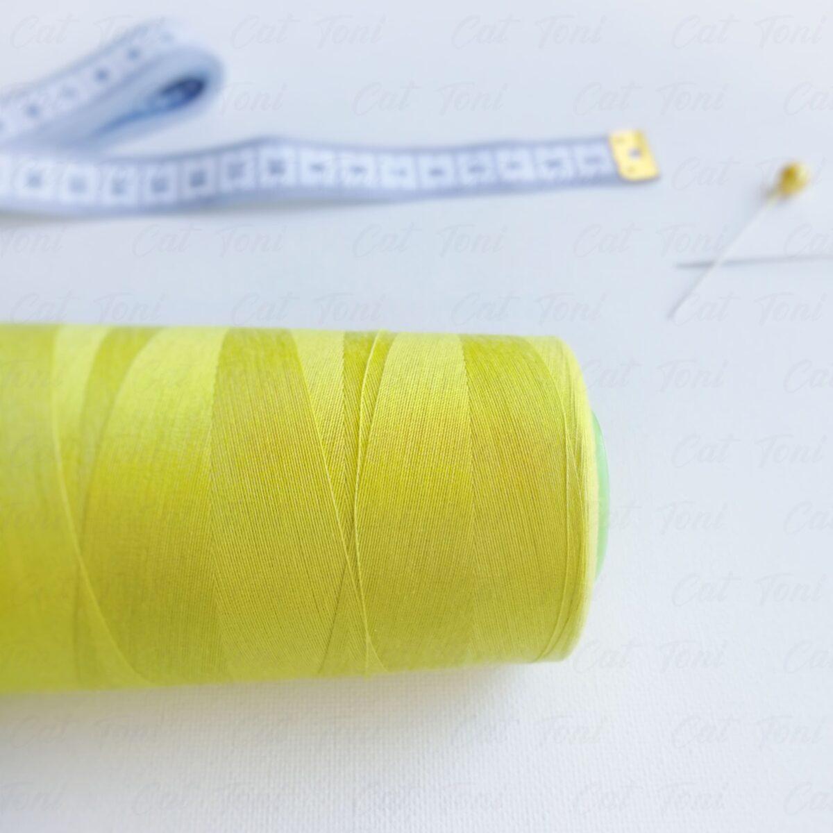 Бобины цвета Желто-зеленая нитка 5000 ярд